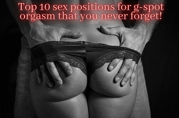sex positions for g-spot